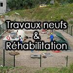 Travaux neufs & Réhabilitation