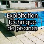 Exploitation technique de piscines et centres aquatiques