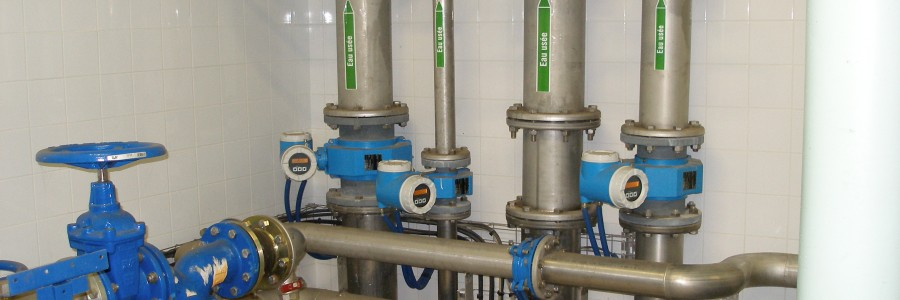 Distribution d'eau sur périmètre d'irrigation