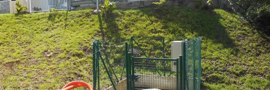 Poste de refoulement Plateau Roy Schoelcher Martinique
