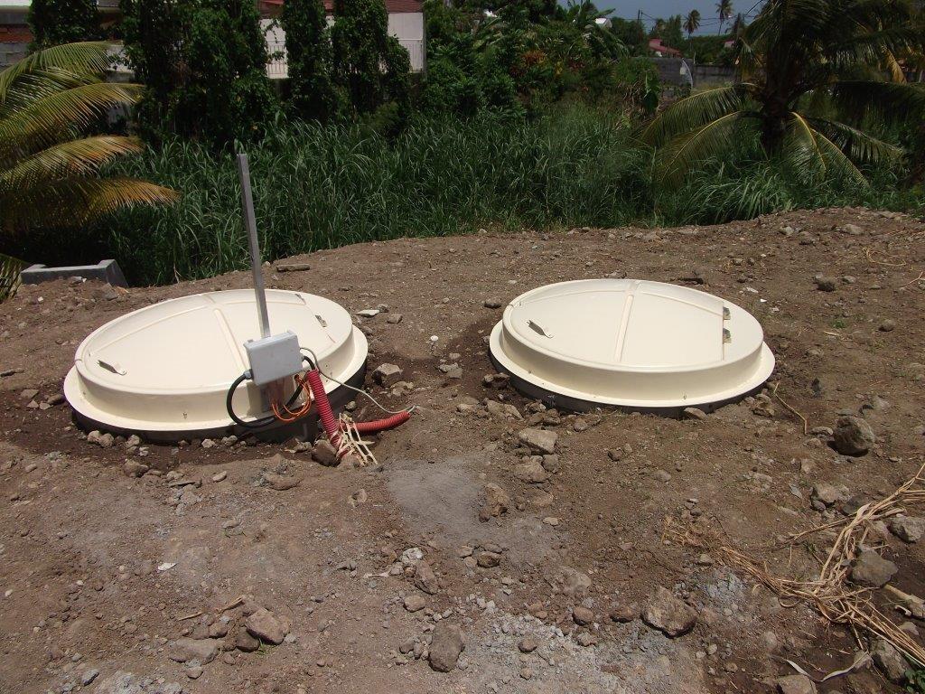 Poste de refoulement Les Moublins Ste-Luce en Martinique