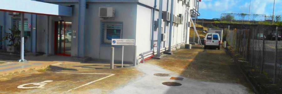 Micro-station d'épuration sous voirie