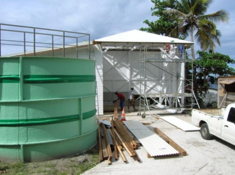 Réhabilitation STEP St-Pierre – Filière boue