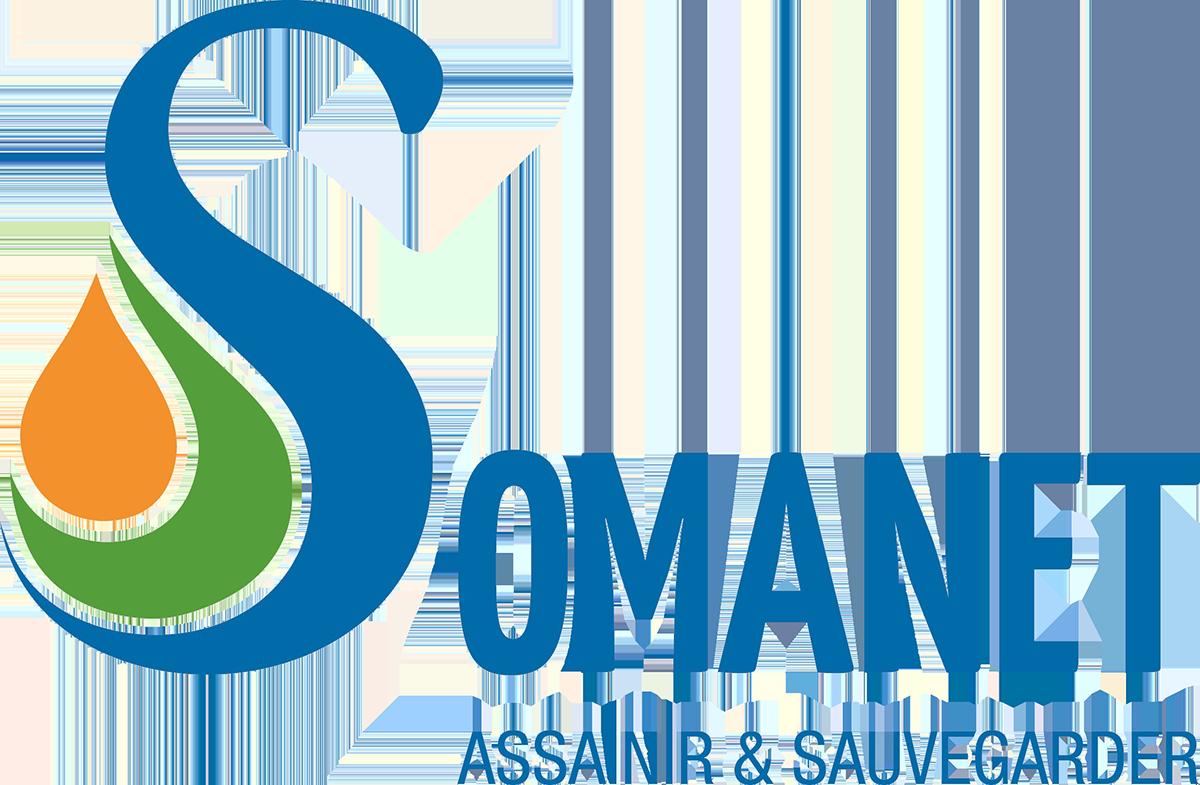 logo SOMANET vidange de fosse septique